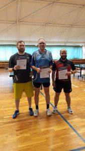 Platz 3 (re.) - J. Schellenberg, Platz 2 (li.) - M. Helmreich, Platz 1 (Mitte) - S. Lankisch