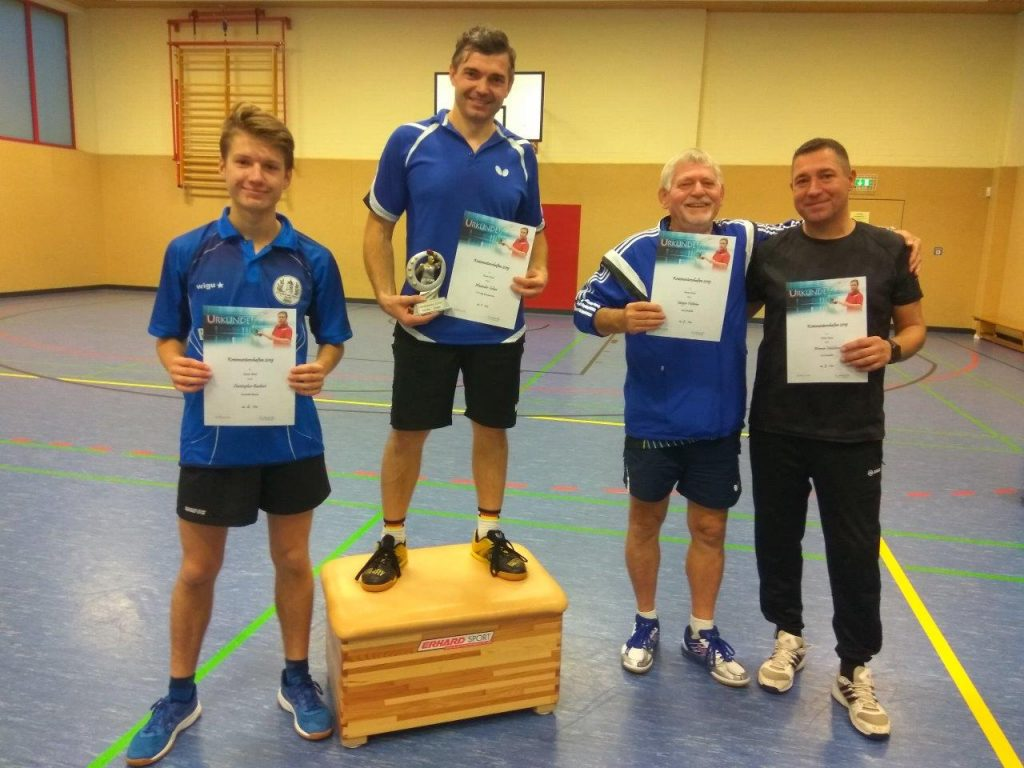 Preisträger Kreismeisterschaft 2019 Herren
